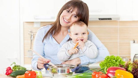 breastfeeding mom's diet plan