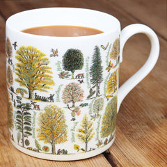 Picturemaps Autumn Trees Bone China Mug by McLaggan Smith Mugs