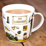 At Your Leisure His Lordship Gift Box Mug by Churchill China