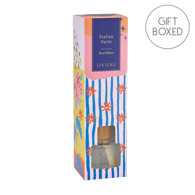Ulster Weavers LoveOlli Summer Scented Reed Diffuser - Italian Suite