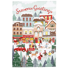 Ulster Weavers Christmas Shopping 100% Cotton Festive Tea Towel
