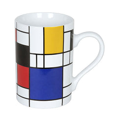 Konitz Picasso Mondrian Homage Small Fragments Abstract Coffee Cup