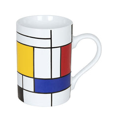 Konitz Picasso Mondrian Homage Large Fragments Abstract Coffee Cup