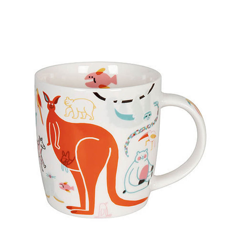 Konitz Katja Grosskinsky Kangaroo & Co Bone China Mug Animal Cup