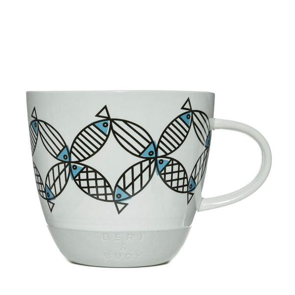 Bert & Buoy Mighty Mackerel Nautical Mug