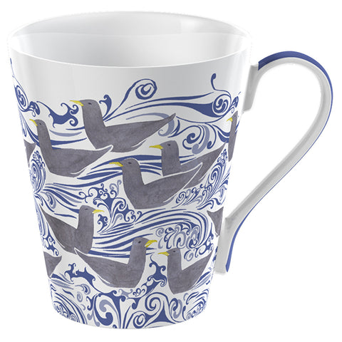 V&A Seagulls China Mug by Creative Tops