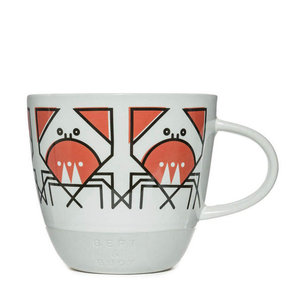 Bert & Buoy Cunning Crab Nautical Mug