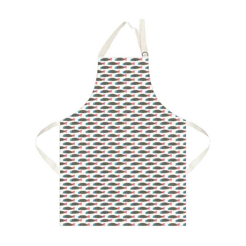 My Gifts Trade Hinchcliffe & Barber Paper Fish Cotton Kitchen Apron