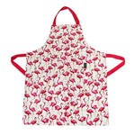 My Gifts Trade Sara Miller Flamingo Repeat Pink Kitchen Apron