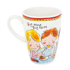 My Gifts Trade Blond Amsterdam Big Love Mug Large 600ml Ceramic Cup