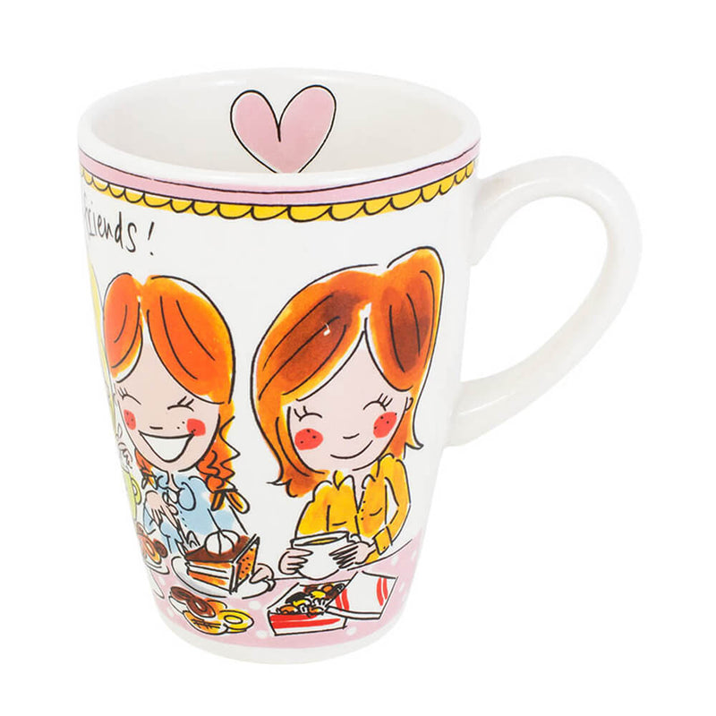 My Gifts Trade Blond Amsterdam Tea, Cookies & Friendship 600ml Mug