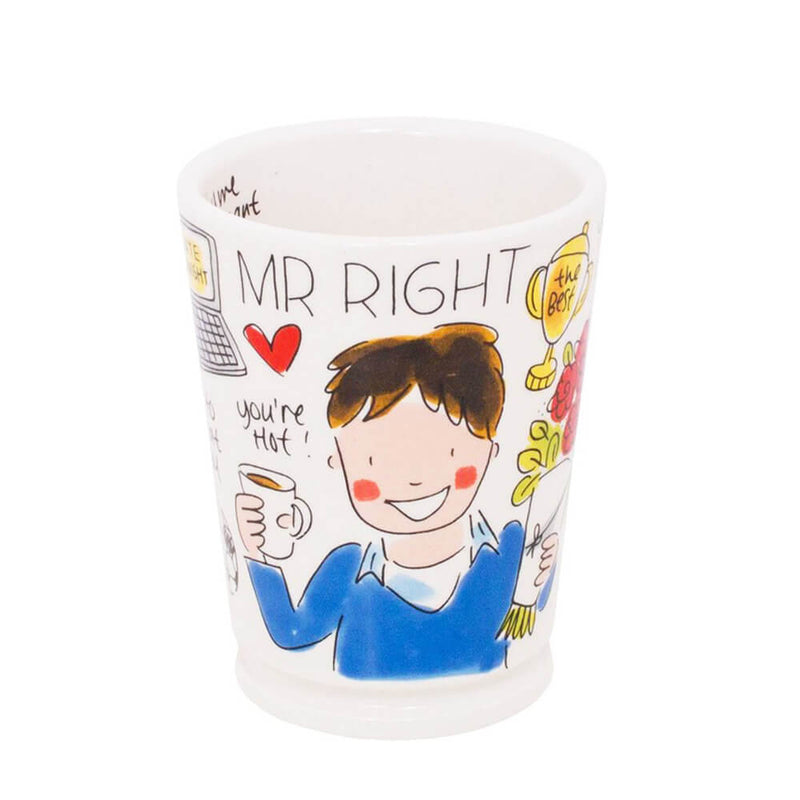 My Gifts Trade Blond Amsterdam Mr. Right Large Mug 500ml Cup For Him