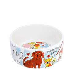 My Gifts Trade Blond Amsterdam Home Is Where My Dog Is Small Dog Bowl