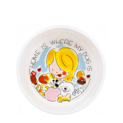 My Gifts Trade Blond Amsterdam Home Is Where My Dog Is Small Dog Bowl £17.89