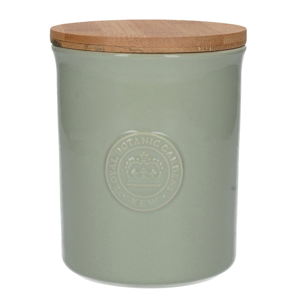 Kew Gardens Richmond Logo Green Storage Jar