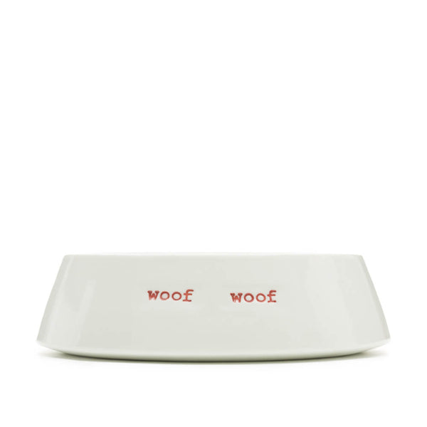 Keith Brymer Jones Woof Woof Porcelain Dog Bowl