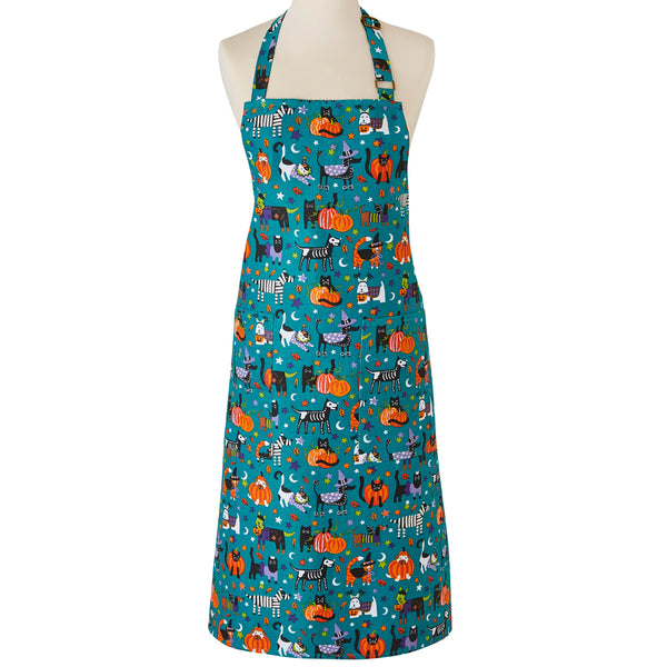 Trick Or Treat Cotton Kitchen Apron