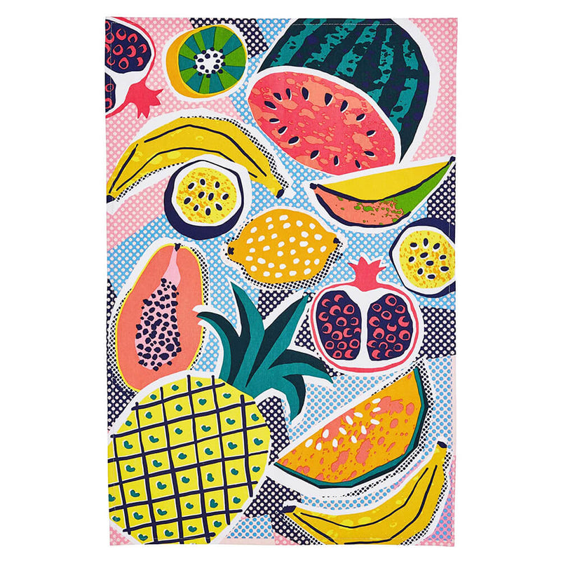 Ulster Weavers Tropical Fruit Colourful 100% Cotton Kitchen Tea Towel