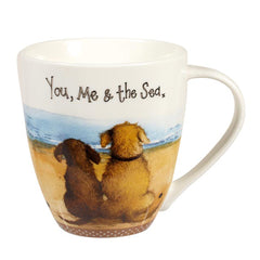 Churchill Alex Clark You, Me And The Sea Gift Mug 500ml Coffee Cup