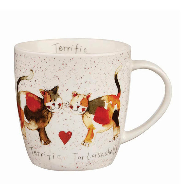 Alex Clark Terrific Tortoiseshells China Mug