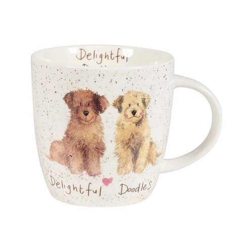 Alex Clark Delightful Doodles China Mug by Churchill