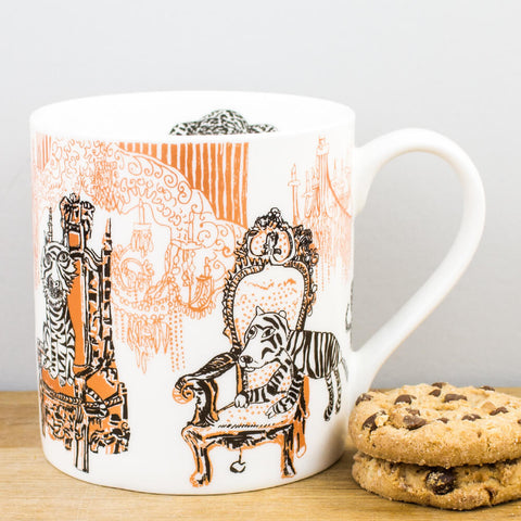 Opulent Tiger China Mug by ARTHOUSE Meath