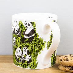ARTHOUSE Meath Artist Designed Panda Party Fine Bone China Gift Mug
