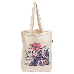 ARTHOUSE Unlimited Angels Of The Deep Coral Reef Cotton Shopper Bag