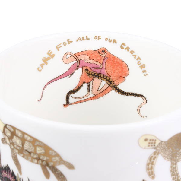 ARTHOUSE Unlimited Angels of the Deep Sea Fine Bone China Gift Mug