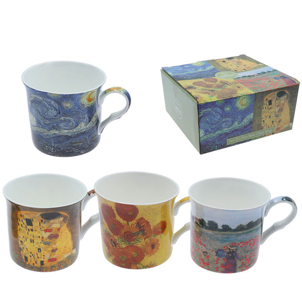 Heritage Artists Mug Set