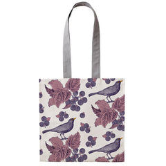 Thornback & Peel Blackbird & Bramble 100% Cotton Canvas Tote Bag