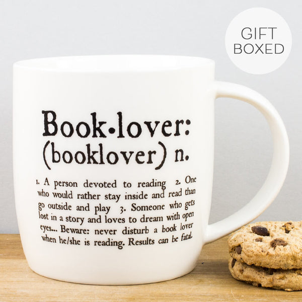 Book Lover China Mug