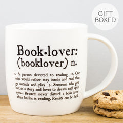 Legami Booklover Dictionary Style Personalised Gift Boxed China Mug
