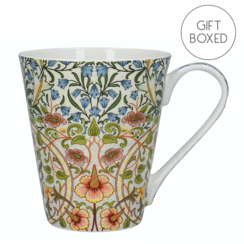 Creative Tops V&A Harebell & Daffodil Fine Bone China Gift Boxed Mug