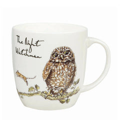 Churchill China Country Pursuits The Night Watchman Owl Gift Mug