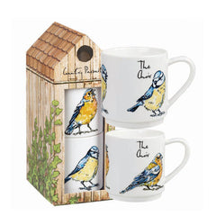 Churchill China Country Pursuits The Choir Bird Themed Gift Mug Set