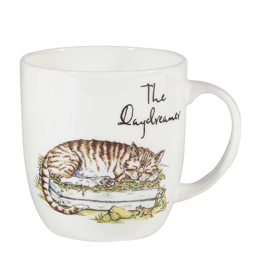 Churchill Country Pursuits The Daydreamer Cat Gift Mug 300ml Tea Cup
