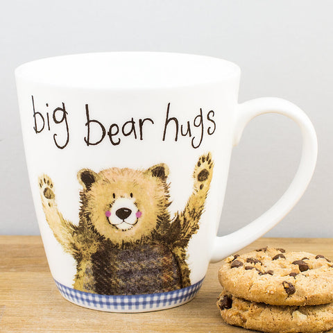 Alex Clark Big Bear Hugs China Mug by Churchill