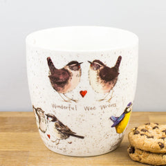 Churchill Alex Clark Brilliant Birds Fine China Mug 430ml Coffee Cup