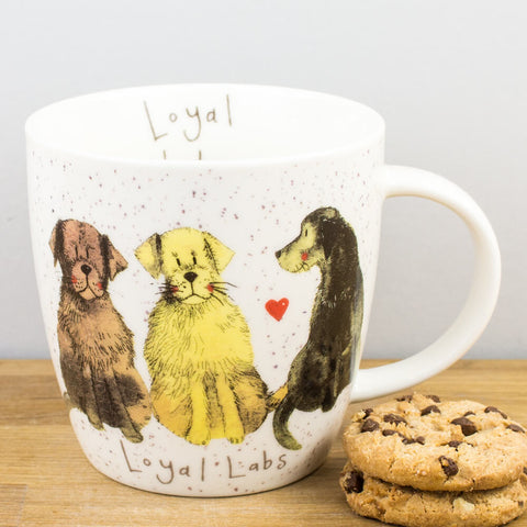 Alex Clark Loyal Labs China Mug by Churchill