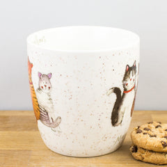 Churchill Alex Clark Marvellous Moggies Cat China Mug 430ml Coffee Cup