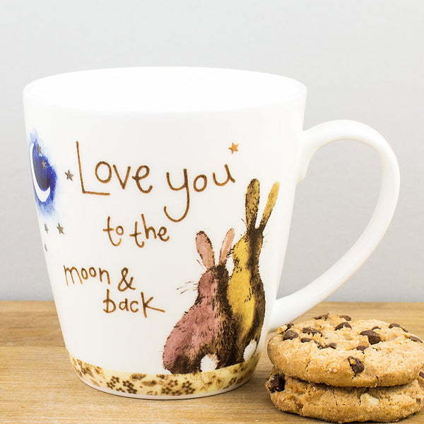 Alex Clark Love You To The Moon & Back China Mug