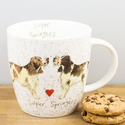 Alex Clark Super Springers China Mug by Churchill