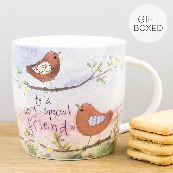 Alex Clark For A Special Friend China Mug