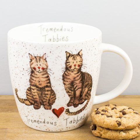 Alex Clark Tremendous Tabbies China Mug by Churchill