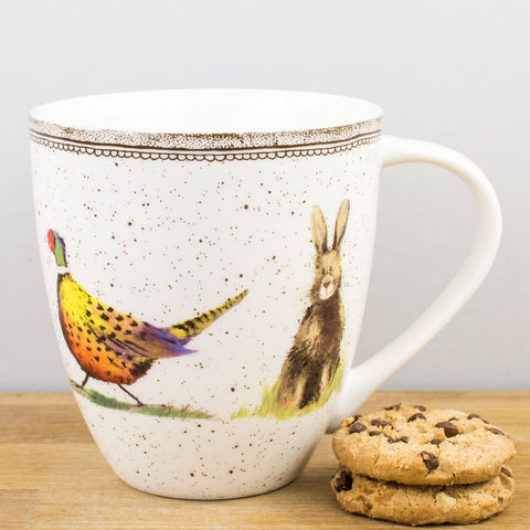Alex Clark Wildlife China Mug by Churchill