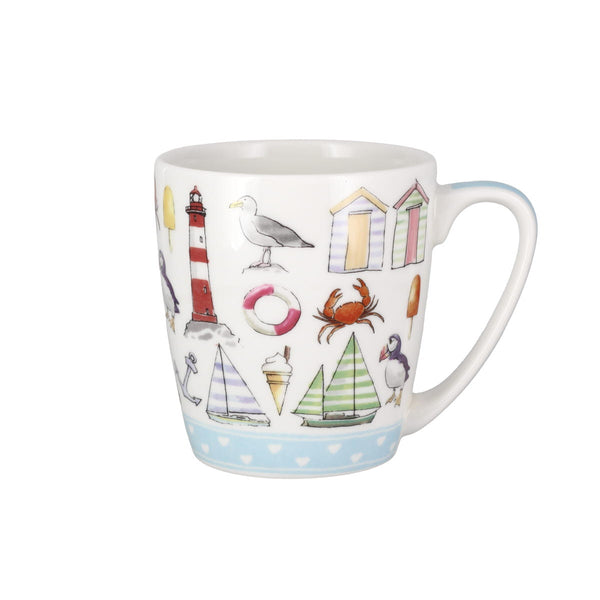 Living The Dream Beach Life China Mug