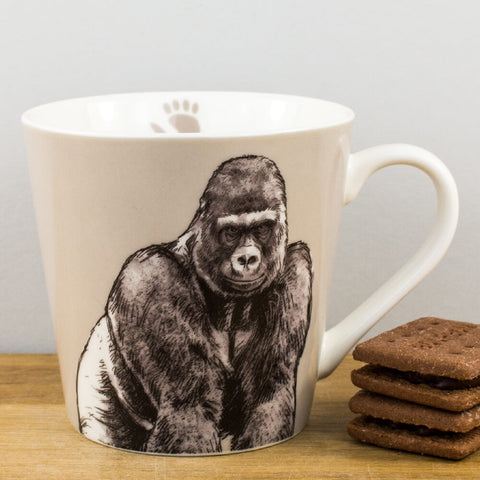 Couture Kingdom Gorilla China Mug by Churchill