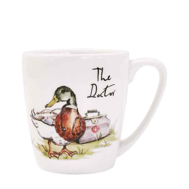 Churchill Country Pursuits The Doctor Duck Gift Mug 280ml Coffee Cup