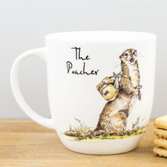 Churchill Country Pursuits The Poacher Otter Gift Mug 300ml Coffee Cup